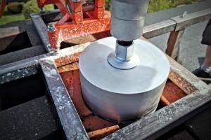Frezowanie komina